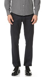 Barena Jersey Trousers Navy