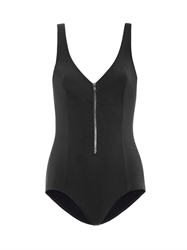 Tomas Maier Moulded Zip Front Swimsuit