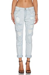 7 For All Mankind Relaxed Skinny Patched