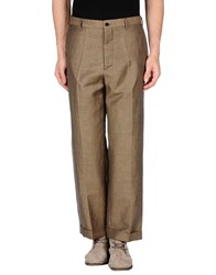 Mp Massimo Piombo Trousers Casual Trousers Men Camel