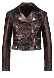 Ivyrevel Leather Jacket Bronze