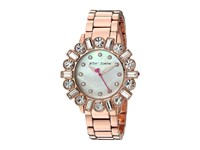 Betsey Johnson Bj00612 03 Geometric Baguette Rose Gold Watches