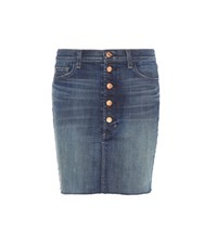 J Brand Rosalie Denim Skirt Blue