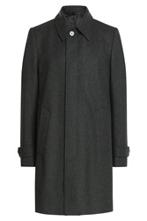 Baldessarini Wool Coat With Cashmere Grey