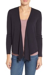 Nic Zoe Petite Women's Four Way Convertible Cardigan Midnight