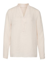 Marc Cain Loose Fit Crepe Blouse Blush