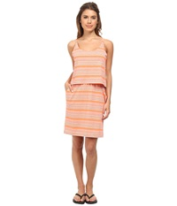 Kavu Coco Dress Firewater Women's Dress Orange