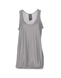 Laneus Topwear Vests Women Grey