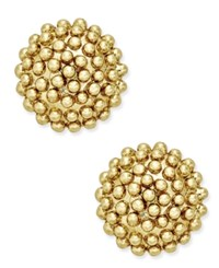 Giani Bernini Cluster Stud Earrings In 18K Gold Plated Sterling Silver Only At Macy's Yellow Gold
