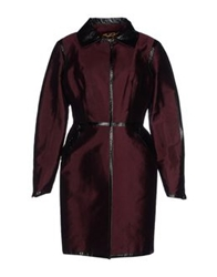 Dolce And Gabbana Full Length Jackets Deep Purple