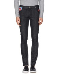 Moschino Denim Denim Trousers Men Black