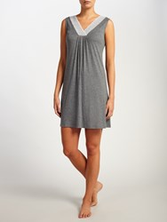 John Lewis Alicia Jersey Chemise Charcoal
