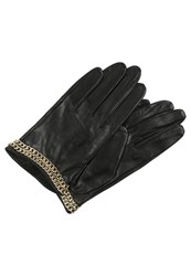 Karl Lagerfeld Gloves Black Gold