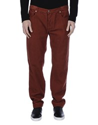 Massimo Alba Trousers Casual Trousers Men Brick Red