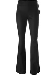 Moncler Bell Bottom Trousers Black