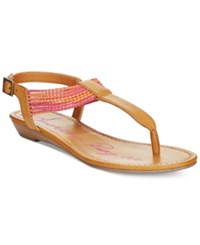 American Rag Piper T Strap Flat Sandals Only At Macy's Women's Shoes