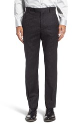 Ted Baker Men's London 'Pashion' Flat Front Floral Wool Trousers