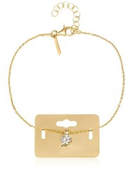 Maria Francesca Pepe The Bling Ring Tag Bracelet