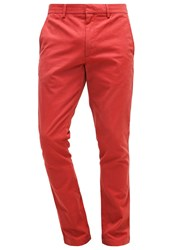 Banana Republic Fulton Chinos Rusted Orange Red