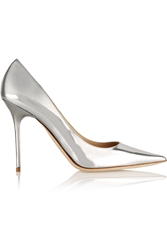 Jimmy Choo Abel Mirrored Leather Pumps
