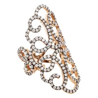 Earthy Chic Boutique Filigree Ring Silver