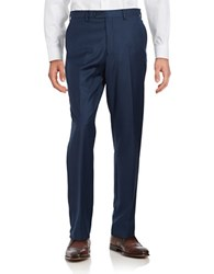 Michael Kors Straight Leg Pants Blue