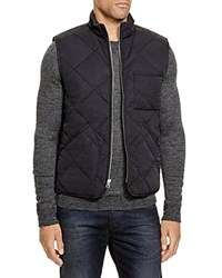 The Men's Store At Bloomingdale's Quilted Vest Black
