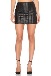 Wyldr Ziggy Mesh Skirt Black