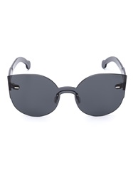 Retrosuperfuture Retro Super Future Cat Eye Sunglasses Black