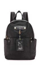 Marc By Marc Jacobs Preppy Nylon Backpack Black