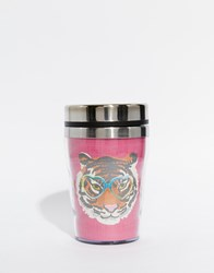 Paperchase Wild At Heart Tiger Mini Insulated Cup Multi