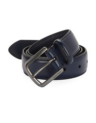 Nautica Polished Leather Belt Navy