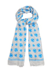 Anya Hindmarch Roundabout Modal And Cashmere Scarf
