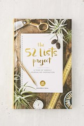 Urban Outfitters The 52 Lists Project A Year Of Weekly Journaling Inspiration By Moorea Seal Assorted