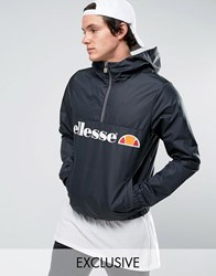 Ellesse Lightweight Overhead Jacket Black