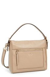 Kate Spade 'Cobble Hill Little Harris' Leather Hobo Warm Putty