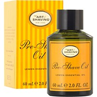 The Art Of Shaving Men's Pre Shave Oil Lemon No Color