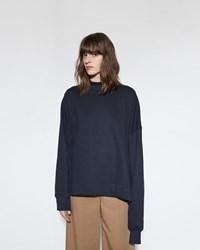 Marni Crewneck Sweatshirt Blue Black