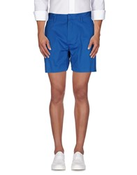 Marc By Marc Jacobs Trousers Bermuda Shorts Men Azure