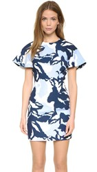 Keepsake Wasting Time Dress Navy Camouflage Floral