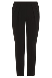 Alexander Wang Cropped Pleat Front Trousers