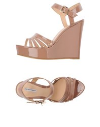 Emporio Armani Footwear Sandals Women Skin Colour