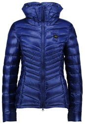 Blauer Down Jacket Royal Blue