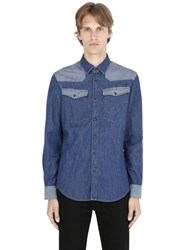G Star 3301 Western Cotton Denim Shirt