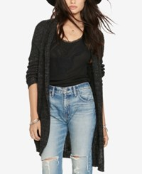 Denim And Supply Ralph Lauren Shawl Collar Cardigan Black Denim