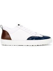 Dsquared2 Brogue Detailing Sneakers White