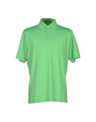 Peter Millar Topwear Polo Shirts Men Acid Green
