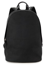 Paul Smith Black Brushed Twill Backpack