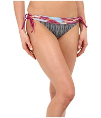 Prana Saba Bottom Black Feather Women's Swimwear