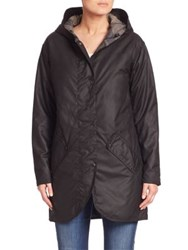 Barbour Coll Waxed Cotton Jacket Black